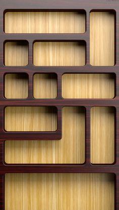 iPhone 5 home wallpaper shelf/shelves
