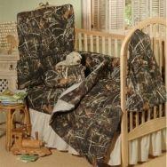 Realtree® Camo Nursery Bedding Set   Starts at $25.50 - via bit.ly/epinner