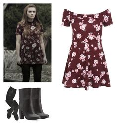 Lydia Martin - tw / teen wolf by shadyannon on Polyvore featuring polyvore fashion style New Look HYD Charlotte Russe clothing