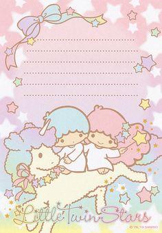 Sanrio Little Twin Stars Memo (2013) | Flickr - Photo Sharing!