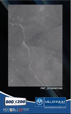 Millennium Tiles 800x1200mm (32x48) PGVT Porcelain Matt XXL Floor Tiles Series  - PMT_20