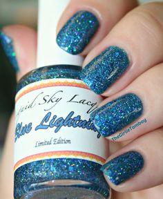 Liquid Sky Lacquer Blue Lightning