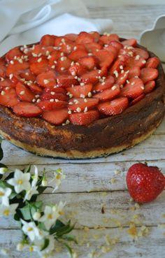 Erdbeer-Mascarpone-Käsekuchen