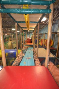 1000 images about indoor playground at the great escape for Innovative pool design kings mountain