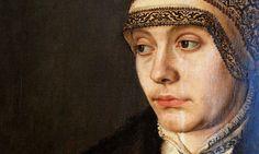 Barthel Beham, Portrait of a Lady with a parrot (Detail)