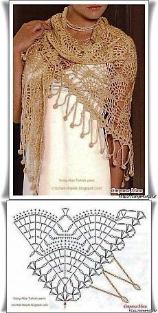 Exceptional Stitches Make a Crochet Hat Ideas. Extraordinary Stitches Make a Crochet Hat Ideas. Crochet Bolero, Crochet Shawls And Wraps, Crochet Diagram, Crochet Chart, Knitted Shawls, Crochet Scarves, Crochet Motif, Crochet Clothes, Crochet Lace