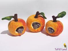 Apfelmäuschen (goldgelb) - ein Designerstück von TaFiO bei DaWanda