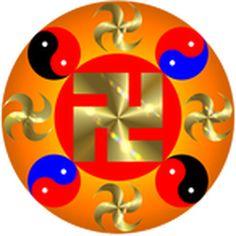 Falun, symbole de Falun Dafa et symbole de notre univers