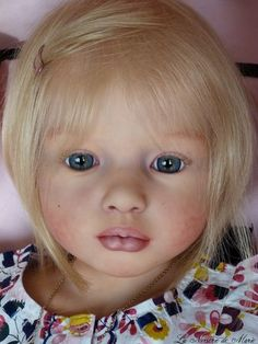 Reborn, baby, doll,toddler, child, girl, prototype Aloenka Natali Blick | eBay