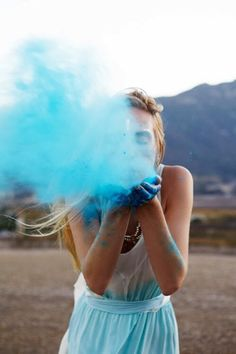 A great idea for photo shoots. Another alternative is glitter