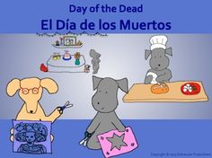 Pepper helps students learn how and why El Dia de los Muertos is celebrated on November 1st and 2nd in Mexico. It is a time to remember and cherish loved ones who have died, to celebrate their lives and to enjoy some festive traditions. Spanish vocabulary for the holiday is included.