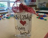 Ms. Sturm loves clean hands too!