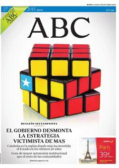 La portada de ABC del jueves 27 de agosto
