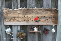 Easy Way To Make A Seasonal Garden Sign