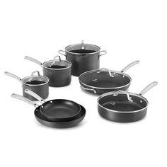 Calphalon Classic 12-pc. Hard-Anodized Nonstick Aluminum Cookware Set, Multicolor