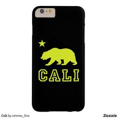 #California Bear Barely There #iPhone 6 Plus Case #Cali #Zazzle