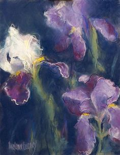 """The Iris in the Garden"" - Maryann Cleary"