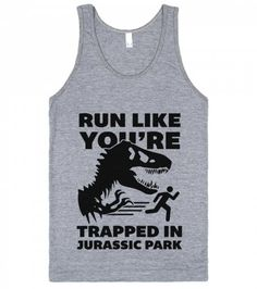Run Like You're Trapped In Jurassic Park