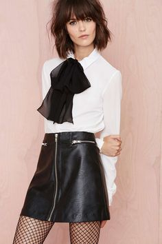 Zip Line Skirt | Shop What's New at Nasty Gal
