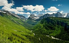 Going-to-the-Sun Road — Glacier National Park, Montana   16 Spectacular Roads You Need To Drive On Before You Die