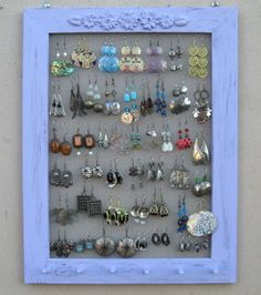 currently making one of these now except with a gold vintage-y frame. love this idea