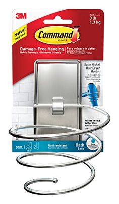 Command BATH39-SN-ES Hair Dryer Holder, Satin Nickel, 1-H... http://smile.amazon.com/dp/B01C60I2OM/ref=cm_sw_r_pi_dp_Aiotxb1695QKC