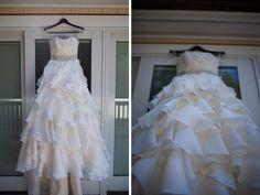 Allison & Ryan on Every Last Detail - wedding dress