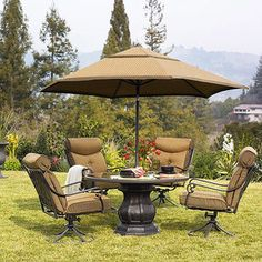 Better Homes and Gardens Mika Ridge 5-Piece Patio Dining Set, Seats 4