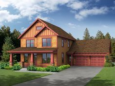 This 2 story Country features 2250 sq feet. Call us at 866-214-2242 to talk to a House Plan Specialist about your future dream home!
