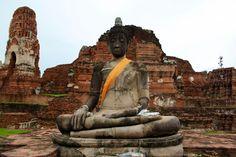 Ancient city of Ayutthaya, Thailand. #aytthaya #thailand