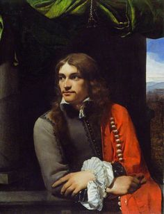 Portrait of Man (possibly Jean Deutz), with a Red Cloak Michael Sweerts
