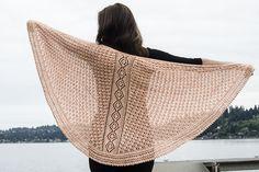 Ravelry: Lacy Shawl pattern by Linda Medina FREE
