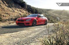 #BMW M6 with #Vorsteiner V-FF 103
