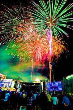 New Year Fireworks - Canberra ,Australia