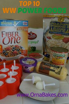 Top Ten Weight Watchers Power Foods - OrnaBakes
