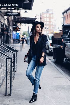 MIXING FAVORITE STAPLES FOR NYFW DAY ONE