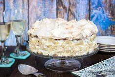 Słodko-słony świat Ilony...: TORT PRALINOWY Z BEZĄ, BIAŁĄ CZEKOLADĄ I CZARNĄ PORZECZKĄ Vanilla Cake, Treats
