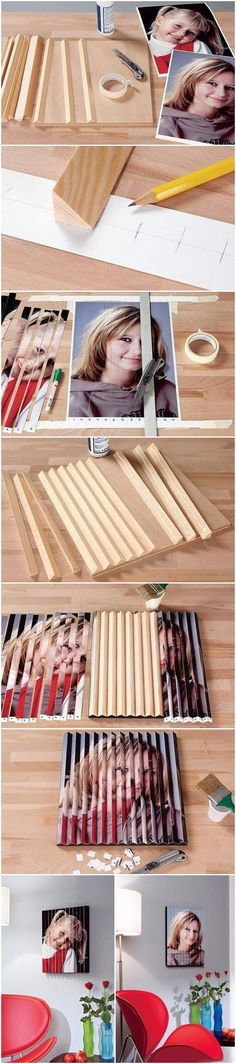 2 Pictures in 1!! Amazing DIY!!!