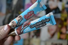 Ben and Jerry's lip balm - this would not work! I'd probably lick it all off!