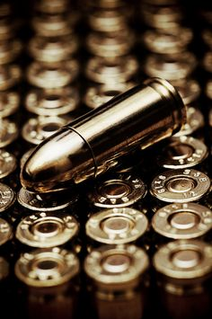 Bullets. Cold, smooth surfaces. To be used for so many other things... ~ Diana M. Joice