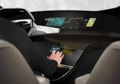 BMW's HoloActive Touch Brings a Hologram in Your Car