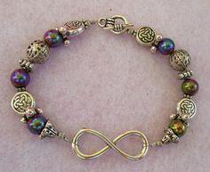 Silver Celtic Infinity Knot Bracelet