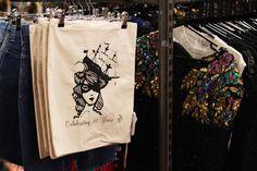 Beyond Retro 10 year anniversary cotton bag by Hannah Bays!