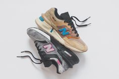 brand new c9a85 1bb6a Shoes · KITH New Balance United Arrows and Sons nonnative 2018 Collection  Sneaker Art, New Balance Sneakers