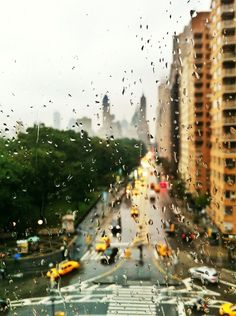 Rainy Day ~ Upper West Side, Central Park, NYC
