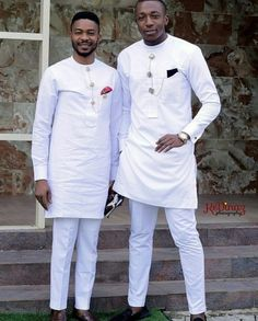 White African men wear, dashiki suit for wedding - DarlingNaija African Wear Styles For Men, African Shirts For Men, African Dresses Men, African Attire For Men, African Clothing For Men, Nigerian Men Fashion, African Men Fashion, Suit Fashion, Mens Fashion