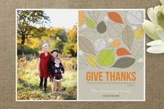 GIVE THANKS stationery @minted!