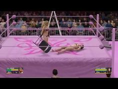 WWE 2K16 Trish Stratus vs Stephanie McMahon TLC bikini match