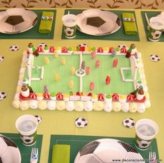 Birthday Bash, Birthday Parties, Soccer Party, Marshmallow, Fondant, Birthdays, Kids Rugs, Baby Shower, Candy
