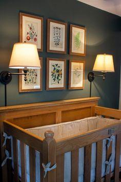 Erin Napier Creates a Magical and Elegant Nursery for Baby Helen - Home Town HGTV - Elegant Home Decor, Elegant Homes, Home Town Hgtv, Erin Napier, Wooden Cribs, Hgtv Kitchens, Home Interior Design, Room Interior, Kids Room